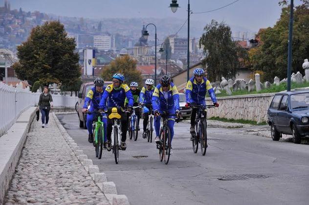 Povodom godišnjice smrti Alije Izetbegovića održan biciklistički maraton Bihać-Sarajevo