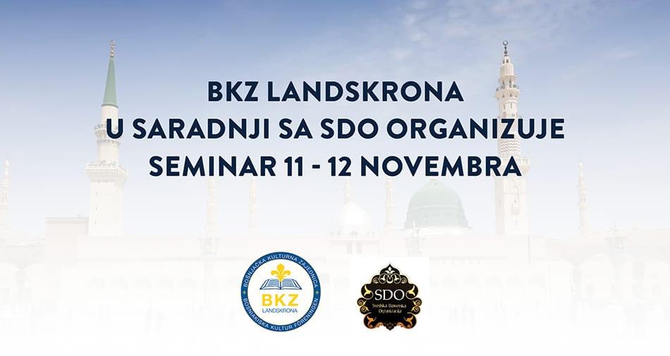 Seminar 11-12 nov BKZ Landskrona